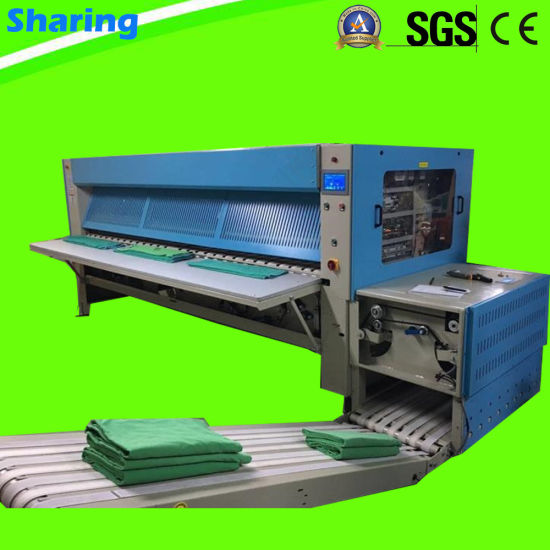 Commercial Laundry Automatic Bedsheets Quit Cover Folding Machine