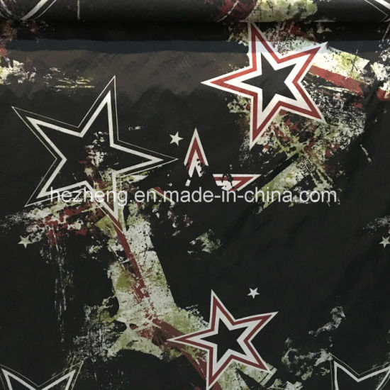 Nylon Digital Printed Fabric for Outdoor Down Jacket pictures & photos
