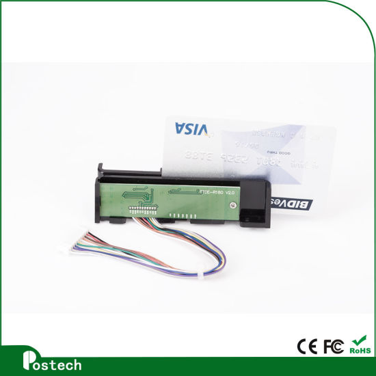 3 Tracks Magnetic Card Reader for Gas Station Msr100 Ttl Connector pictures & photos