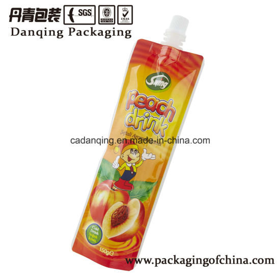 Mini Packaging Bag, Juice Stand up Pouch Doypack Sachet Y0706 pictures & photos