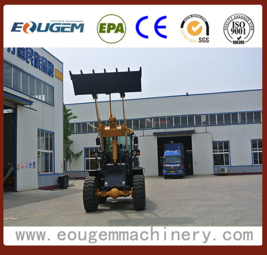Eougem Wheel Loader Zl36 Material Justcuzican Pogo Auto Loader pictures & photos
