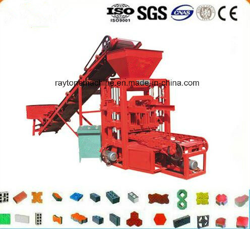 Qtj4-35b2 Low Invest High Profit Brick Making Machine