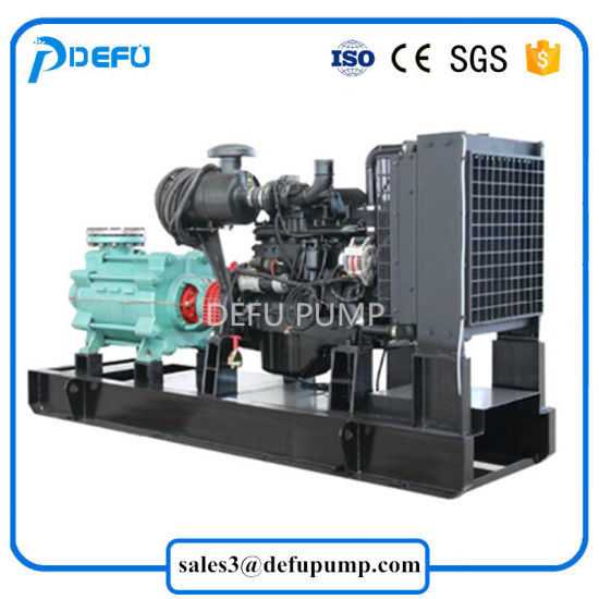 Horizontal Diesel Engine Sea Water Transfer Multistage Pump with Best Price pictures & photos