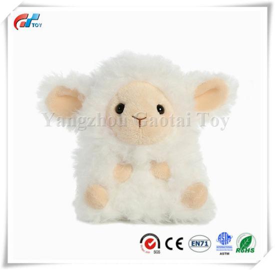 Lyssa Lamb Rolly Pet 5 Inch Stuffed Animal