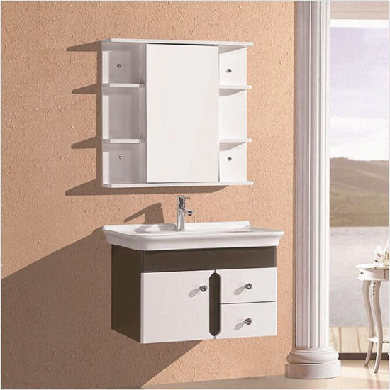 Solid Wood Cabinet Ceramic Washbasin