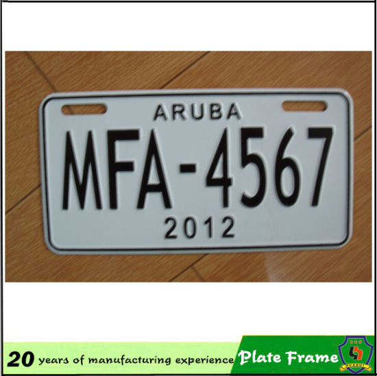 2016 Top Sale Wholesale Best Price Plastic Custom License Plate Frames pictures & photos