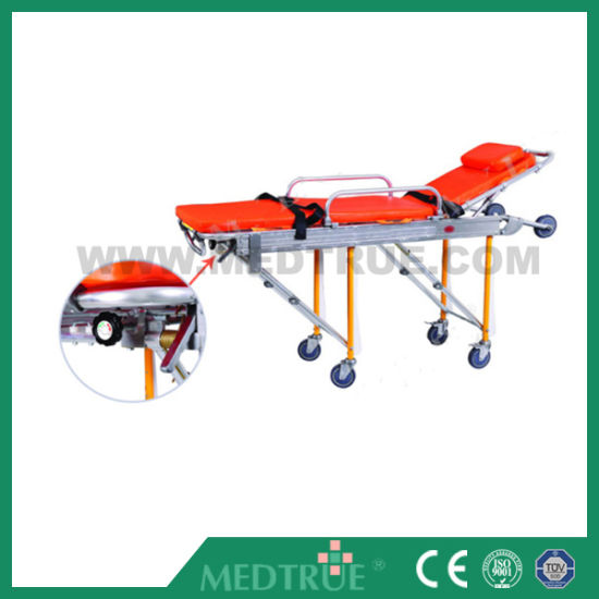 CE/ISO Approved Medical Rescue Emergence Varied Positions Mutifunctional Automatic Stretcher (MT02020001) pictures & photos