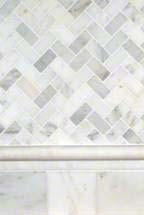 Popular White Marble Mosaic pictures & photos