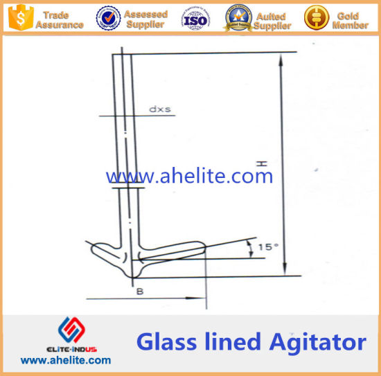 Impeller Type Glass Lined Agitator