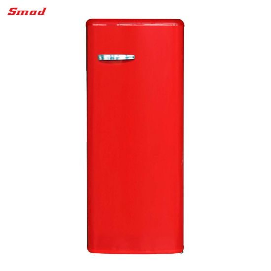 China Red Retro Compact Single Door