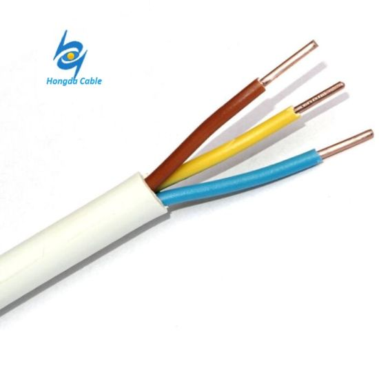 china 450v 3 core 2 5mm copper pvc insulated electric wire cable rh zzhongdacable en made in china com