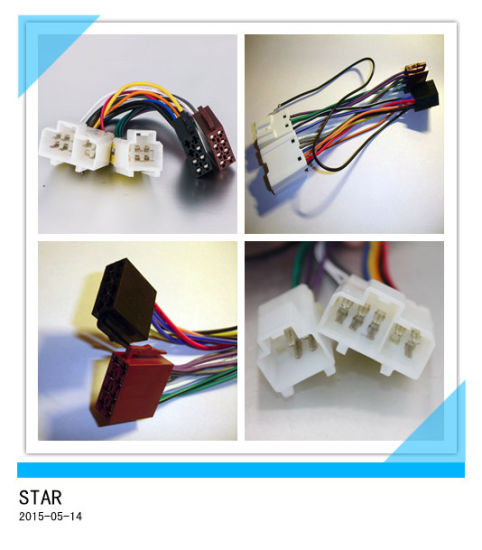 nissan radio wire auto adpter male to female iso wire harness connector  pictures & photos