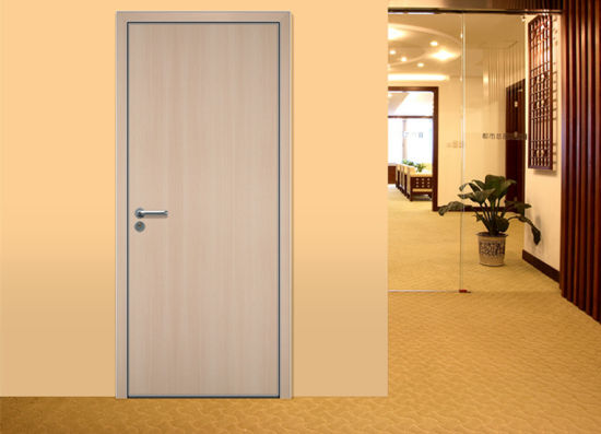 Double Main Door Design, Plain Solid Wood Doors, Cheap Interior Doors pictures & photos