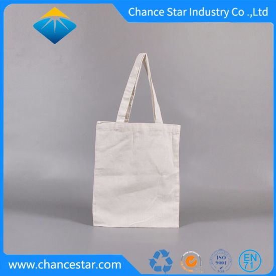 Custom Foldable Natural Cotton Eco Friendly Gift Packaging Nonwoven Shopping Bag pictures & photos