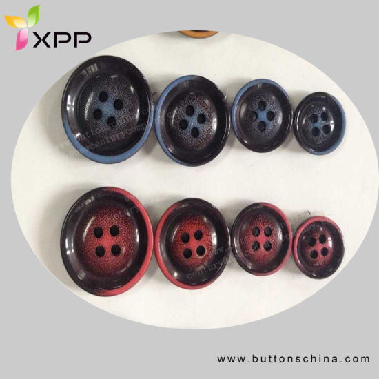 Color Mixture Fashin Polyester Coat Button pictures & photos