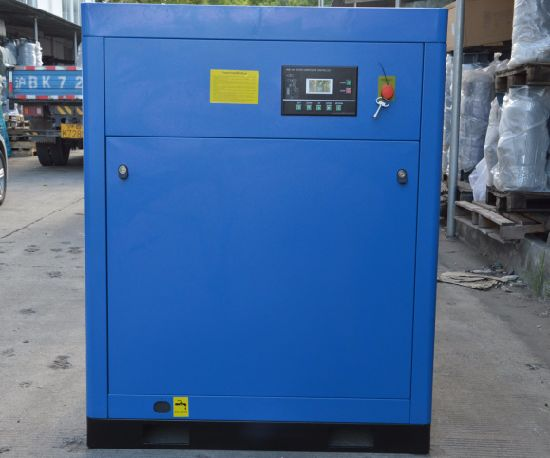Small Rotary Screw Air Compressor 37kw 50HP for Rice Color Sorter