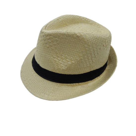 7cc2bb6342541 China Custom White Floppy Fashion Summer Fedora Hats Man Paper Straw ...