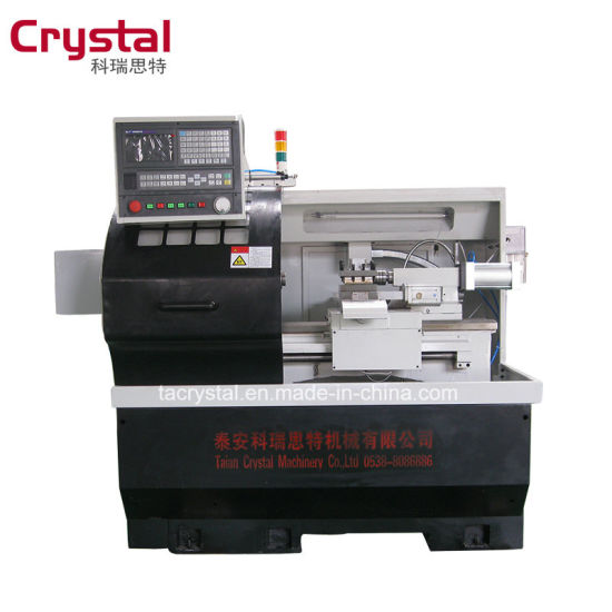 Low Cost Hobby Benchtop Mini Metal Small Used CNC Lathe Ck6132A