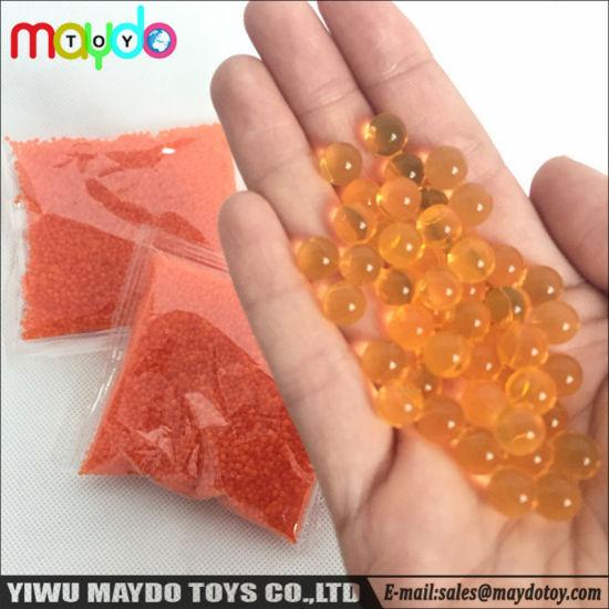 Wholesale Decorative Bio Water Gel Beads for Gun Bullet Crystal Beads