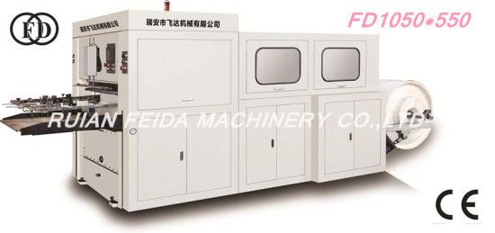 Fd1050*550 High Speed Roll Paper Die Cutting Machine