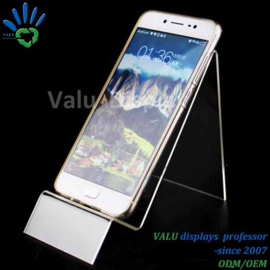 China Acrylic Mobile Phone Display Stand Cellphone Display Holder Interesting Cell Phone Display Stands