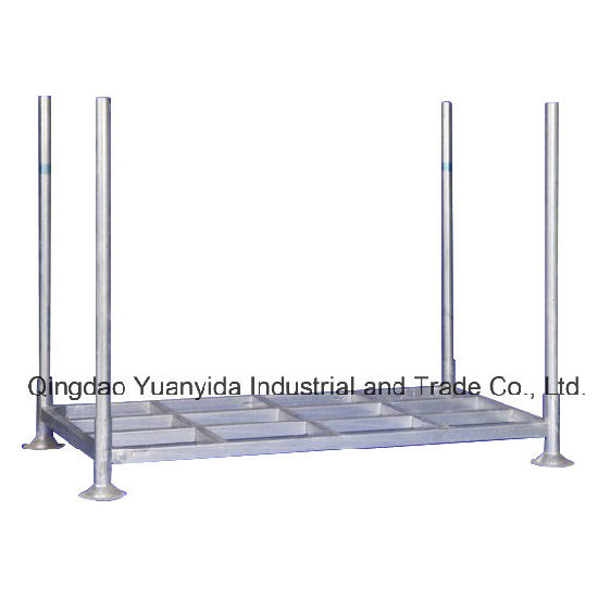 Big Hot Dipped Galvanized Warehouse Storage Pallets Mobile Rack pictures & photos