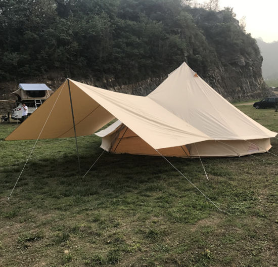 5m Canvas Bell Tent with Tarp for Sale & China 5m Canvas Bell Tent with Tarp for Sale - China Bell Tent with ...