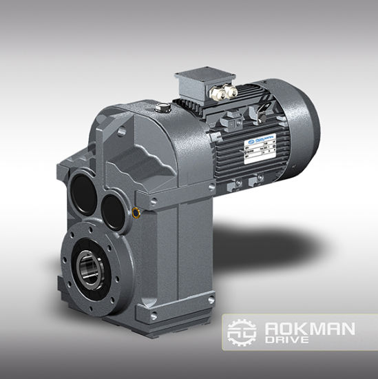 SGS Approved High Quality F Speed Reducer pictures & photos