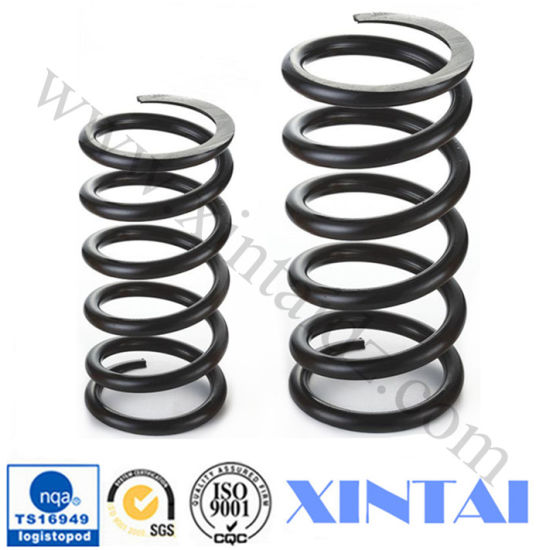 Car Accessories Coiled Ground Compression Spring pictures & photos