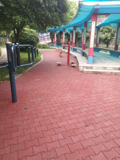 Factory Customized Colorful Epdm Outdoor Recycled Rubber Paving Tiles For Garden Walkway Courtyard Balcony