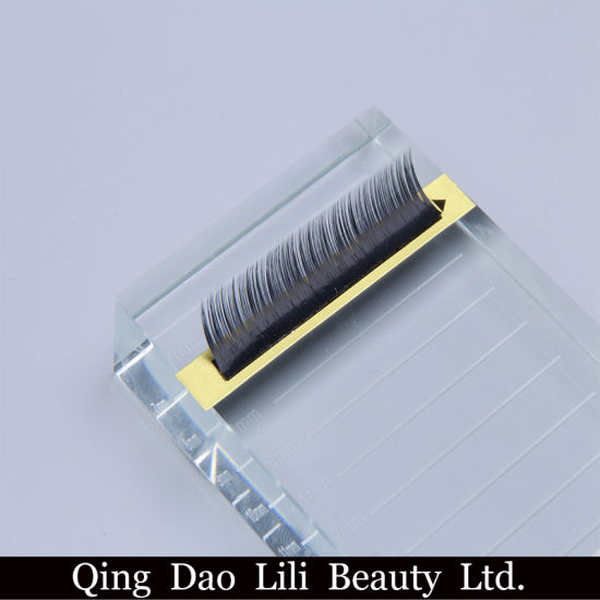 9d2acc59393 Hand Made Custom Lash Tray Premium Real Mink Hair 3D Flare False Eyelashes  pictures & photos