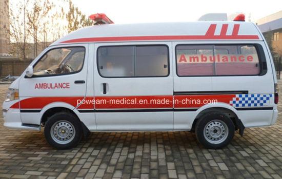 Hospital Golden Dragon 2 Wheels Drive Diesel Ambulance (XML5035X)