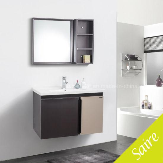 Bathroom Cabinet Staonless Steel Bathroom Vanity with Side Cabinet