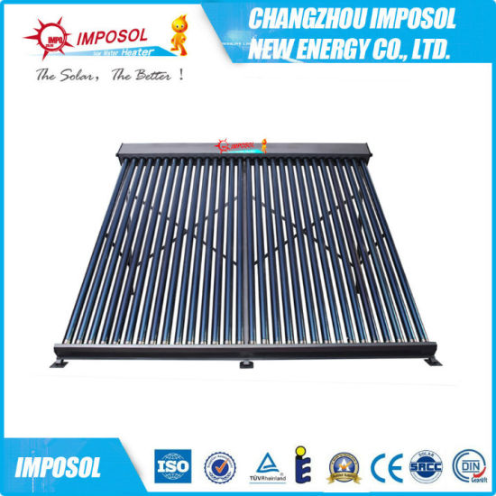 2016 New Non Pressure Heat Pipe Solar Collector pictures & photos