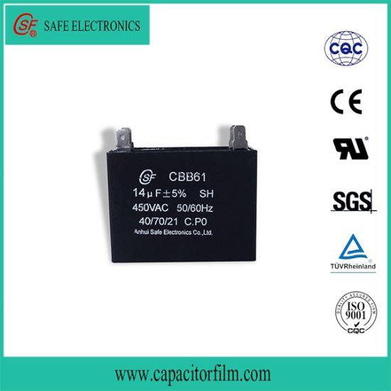 Metallized Film Fan Capacitor Cbb61