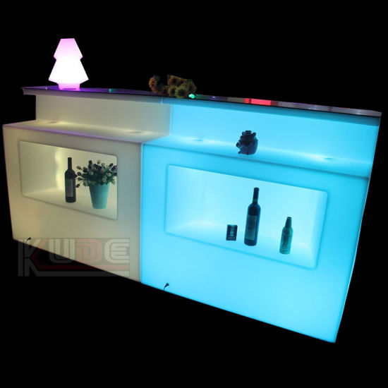 Color Change Waterproof Glow Corner Bar Furniture