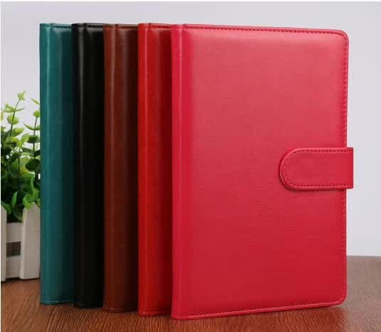 Custom PU Leather Journal Notebooks with Flap