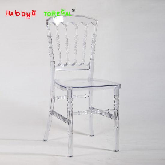 Acrylic PC Resin Chaise Chiavari Napoleon Events Chair Pictures Photos