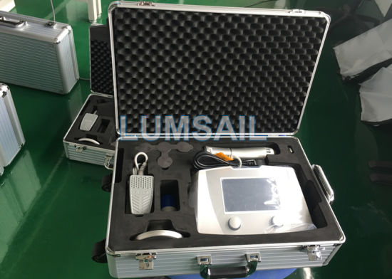 BS-Swt2X Physiotherapy Equipment Eswt Shock Wave Therapy for Pain Relief pictures & photos