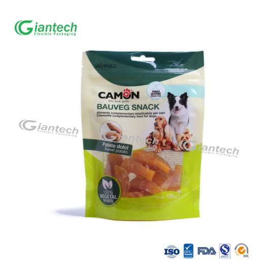 Customized Food Packaging/ Stand up Bag with Zipper and Clear Window pictures & photos