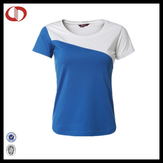 Custom Sublimation Women Sport T Shirt pictures & photos