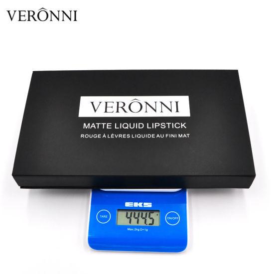 China Veronni Beauty Hot Sale Matte Liquid Lipstick 12PCS/Set Sexy