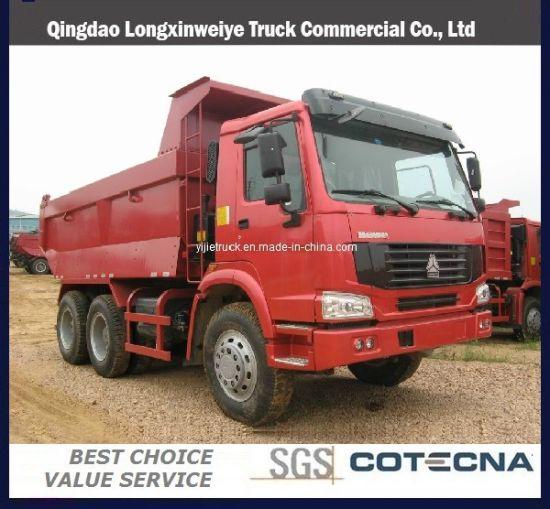 Sinotruk HOWO 6X4 15cbm-25cbm Capacity Tipper Dump Truck