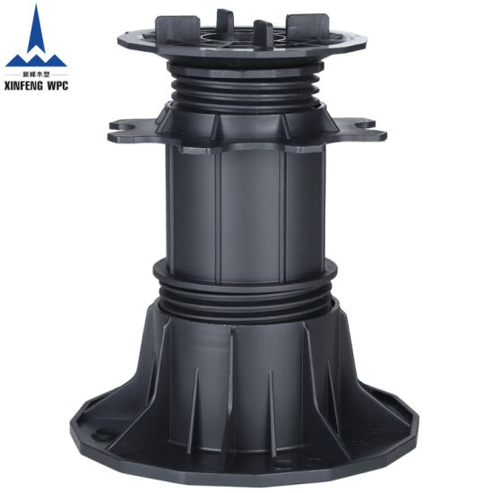 Xf Tile Adjustable Plastic Concrete Roof Floor Pedestal