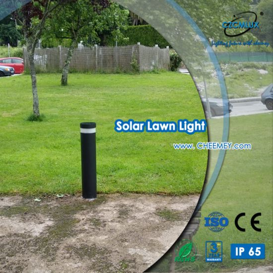 Outdoor LED Solar Bollard Light for Projects