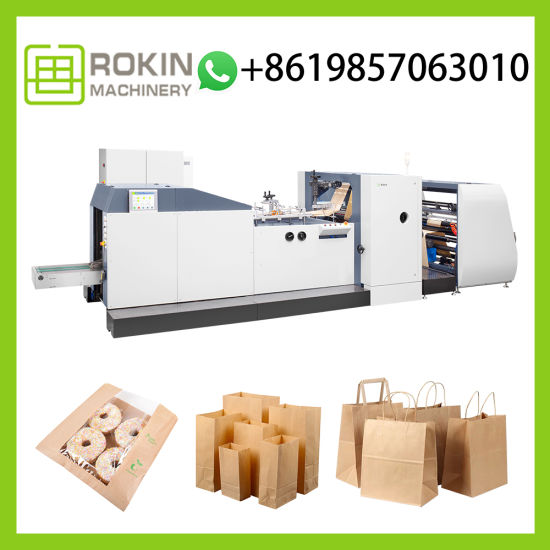 Wholesale 1kg Paper Packaging Bags Auto Paper Bag Forming Machine