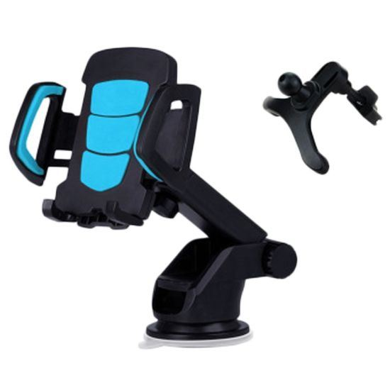 Car Phone Holder, 2 in 1 Car Phone Mount Cradle pictures & photos