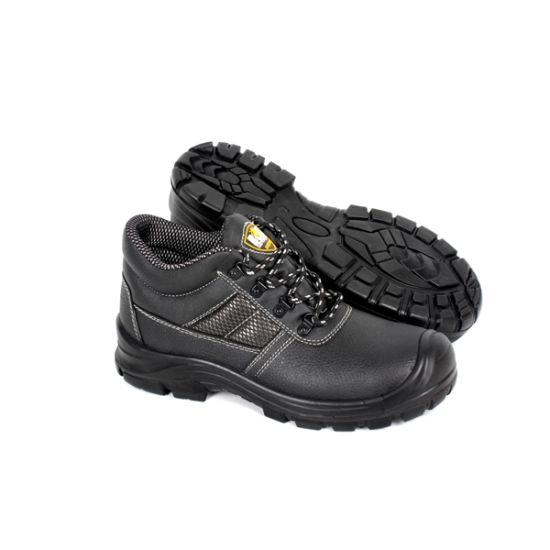 Industrial Leather Men/Women Safety Shoes Working Shoe Safety Footwear with Ce Certificate with Good Quality (Sn5808)