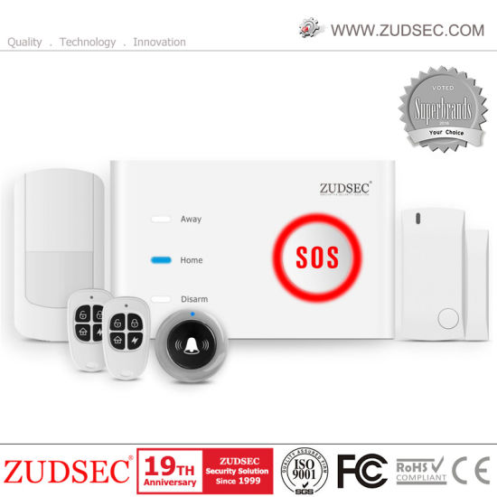Dual-Net WiFi GSM Burglar Alarm Home Security System