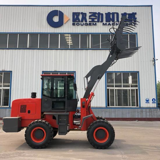 China Eougem Gem930 Mini Front End Loader with Hydraulic
